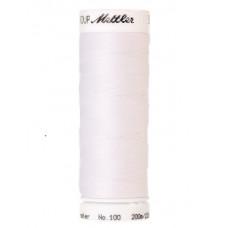 Amann Mettler Seralon naaigaren nr 100 200m kleur 2000 - wit