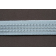 Antislip Elastiek wit 25 mm