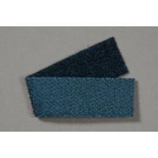 Back-to-back klittenband, 50 mm, zwart (per meter)