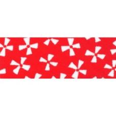 Biaisband 18mm gebloemd (nr 46) per meter