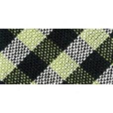 Biaisband 18 mm schuine ruit, zwart-groen, per meter