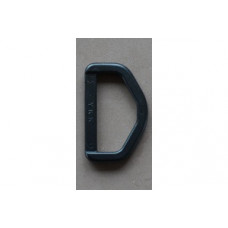 D-ringen 38 mm zwart, nylon (per stuk)