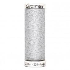 Gütermann naaigaren 200m kleur 008 - grijs (licht grijs)