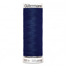 Gütermann naaigaren 200m kleur 013 - blauw (marine)