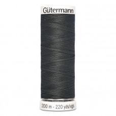 Gütermann naaigaren 200m kleur 036 - grijs (antraciet)