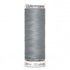 Gütermann naaigaren 200m kleur 040 - grijs