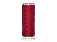 Gütermann naaigaren 200m kleur 046 - rood (robijnrood)