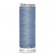 Gütermann naaigaren 200m kleur 064 - blauw (blauwgrijs)