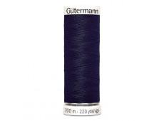 Gütermann naaigaren 200m kleur 339 - blauw (donker blauw)