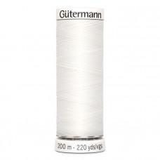 Gütermann naaigaren 200m kleur 800 - wit