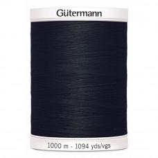 Gütermann naaigaren 1000m kleur 000 - zwart