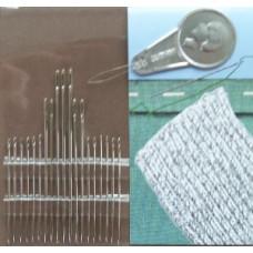 Naai- en stopnaalden (37-81 mm) met draaddoorsteker
