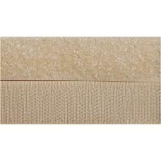 Opnaaibaar klittenband, 20 mm beige (per meter)