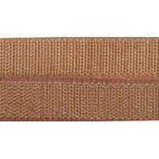 Opnaaibaar klittenband, 20 mm bruin (havana) (per meter)