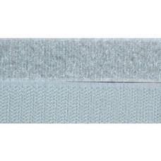 Opnaaibaar klittenband, 20 mm grijs (donker) (per meter)