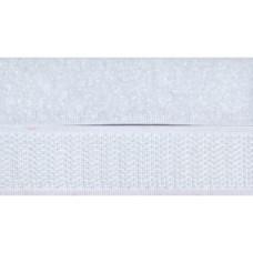 Opnaaibaar klittenband, 20 mm wit (per meter)