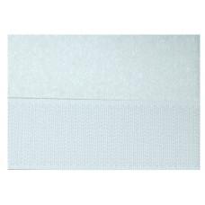 Opnaaibaar klittenband, 30 mm wit (per meter)