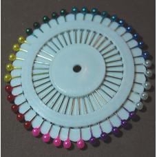Parelkopspelden 38 mm (40 stuks op rozet)
