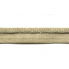 Pipingband - paspelband, 2,5mm mostert per meter