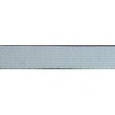 Elastiekband stevig, Tailleband elastiek, 10 mm, wit (per meter)