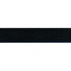 Elastiekband stevig, Tailleband elastiek, 10 mm, zwart (p/m)