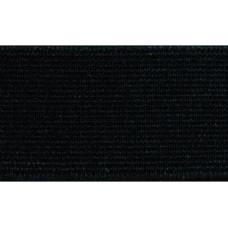 Elastiekband stevig, Tailleband elastiek, 30 mm, zwart (p/m)