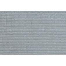 Elastiekband stevig, Tailleband elastiek, 50 mm, wit (per meter)