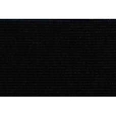 Elastiekband stevig, Tailleband elastiek, 50 mm, zwart (p/m)