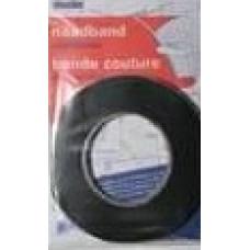 Vlieseline naadband 1 cm x 12.5m, zwart