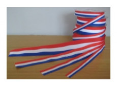 Lint met de Nederlandse vlag