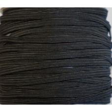 Pyjama elastiek 5 mm zwart (per meter)