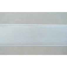 Gordijnband transparant 6,3 cm (per meter)