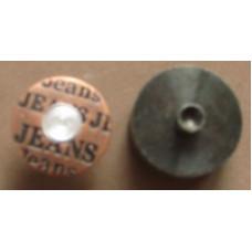 Jeansknopen 17 mm (10 stuks)
