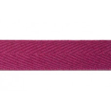 roze keperband 17 mm breed