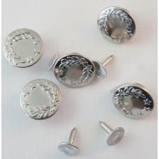 Jeansknopen 17 mm (8 stuks)