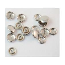 Stofknopen, Knopen met stof overtrekbaar, 11 mm, per stuk