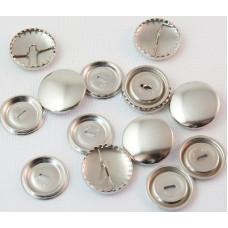 Stofknopen, Knopen met stof overtrekbaar, 23 mm, per stuk