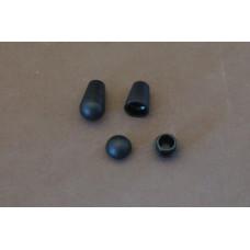 Koordeindjes zwart (per stuk)