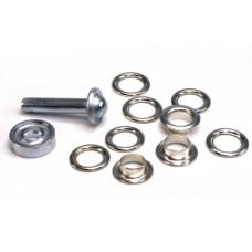 Nestels 11 mm zilver (15 stuks)