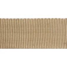 Ribslint goud kleur 25mm