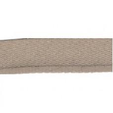 Stootband beige 17 mm (per meter)