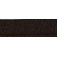 Stootband bruin 15 mm (per meter)