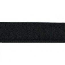 Stootband zwart 15 mm (per meter)