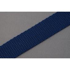 Tassenband - Nylonband, 20mm, donker blauw, per meter