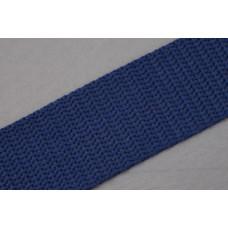 Tassenband - Nylonband, 30mm, blauw ( donker blauw), per meter