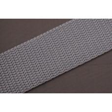 Tassenband - Nylonband, 30mm, grijs, per meter