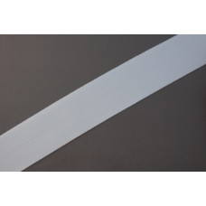 Tassenband - Nylonband, 50mm, wit, per meter