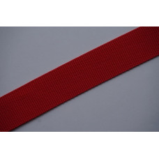 Tassenband - Nylonband, 40mm, rood, per meter