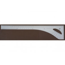 Patroonteken liniaal / Naaisterhaak 60cm