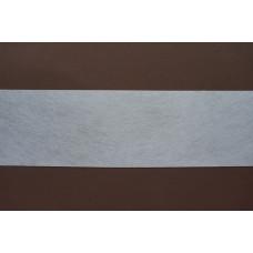 Vlies gordijnband 7,7 cm (per meter)